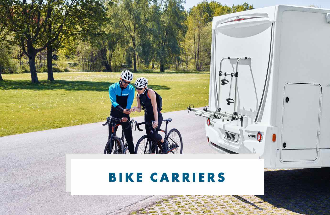 Shop Caravan & Motorhome Bike Carriers