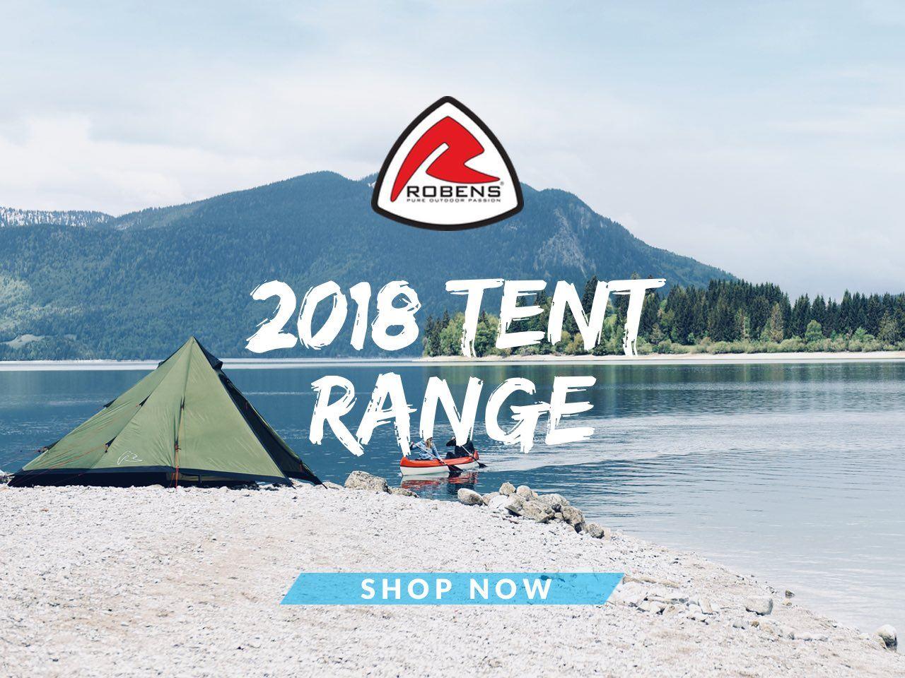 2018 Robens Tent Range