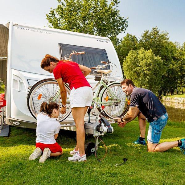 additional image for Fiamma Carry-Bike Caravan XL A Pro Caravan Cycle Carrier Deep Black