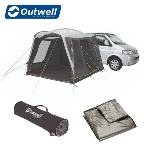 additional image for Outwell Milestone Shade Driveaway Awning - New For 2020