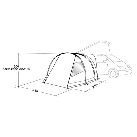 additional image for Easy Camp Shamrock Driveaway Awning - New for 2020