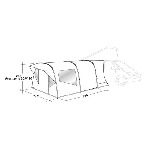 additional image for Easy Camp Wimberly Driveaway Awning - New for 2020