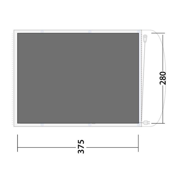 additional image for Outwell Lindale 5PA Tent Footprint Groundsheet