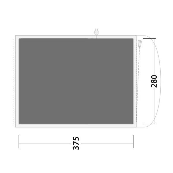 additional image for Outwell Oakwood 5 Tent Footprint Groundsheet