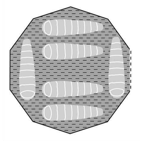 additional image for Robens Klondike Tent Carpet