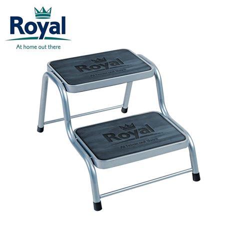 Royal Deluxe Double Steel Caravan Steps