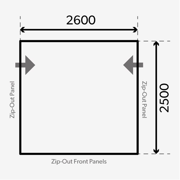 additional image for Dometic Rally AIR Pro 260 M Awning - 2021 Model