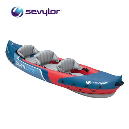 Sevylor Tahiti Plus 3 Person Inflatable Kayak Canoe Boat