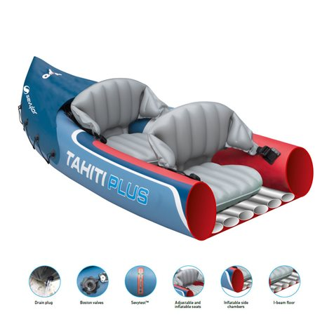 additional image for Sevylor Tahiti Plus 3 Person Inflatable Kayak