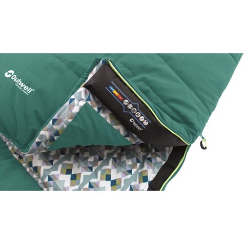 additional image for Outwell Camper Supreme Sleeping Bag - 2020 Model