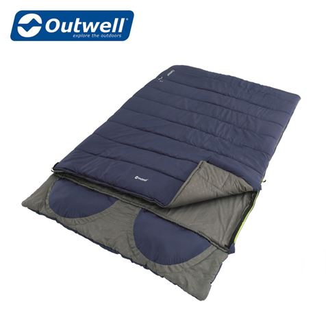 Outwell Contour Lux Double Sleeping Bag - New For 2020