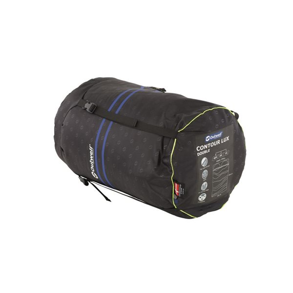 additional image for Outwell Contour Lux Double Sleeping Bag - 2021 Model