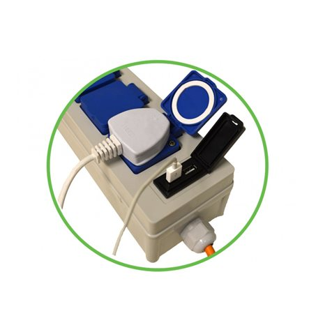 additional image for 3 Way Mobile Mains Power Unit With USB Ports