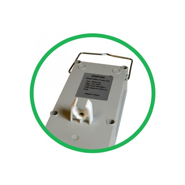 additional image for Maypole 3 Way Mobile Mains Power Unit With USB Ports
