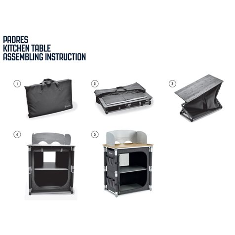 additional image for Outwell Padres Kitchen Stand - 2020 Model