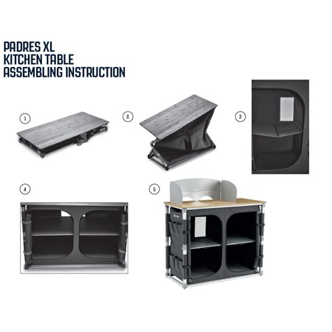 additional image for Outwell Padres XL Kitchen Stand 2020 Model