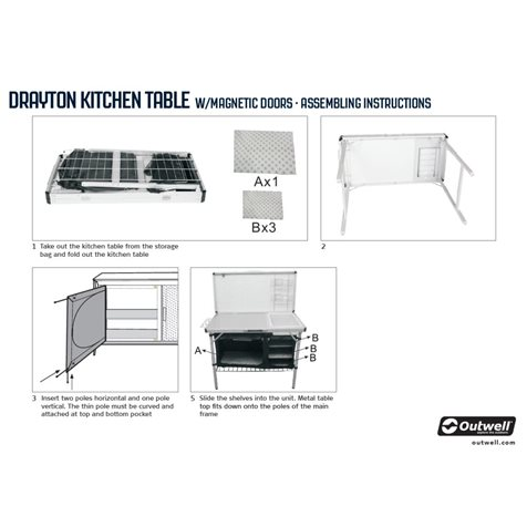 additional image for Outwell Drayton Kitchen Unit 2020 Model