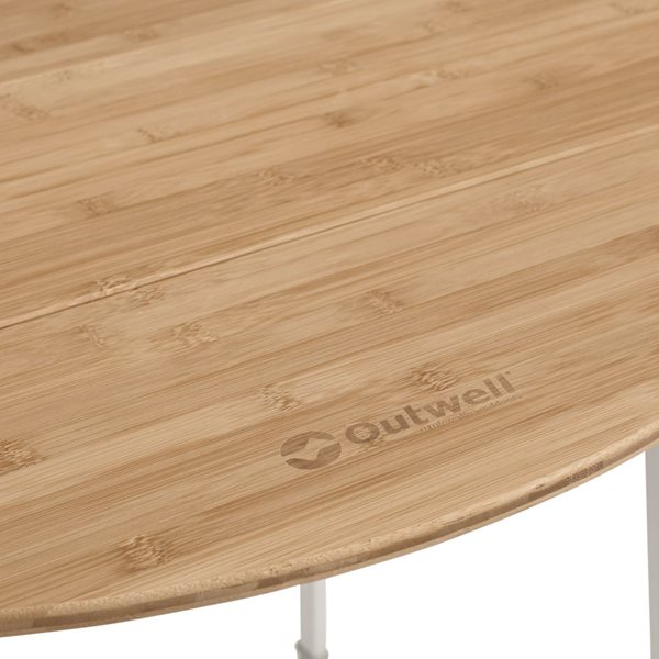 additional image for Outwell Custer Bamboo Table Round - New For 2021