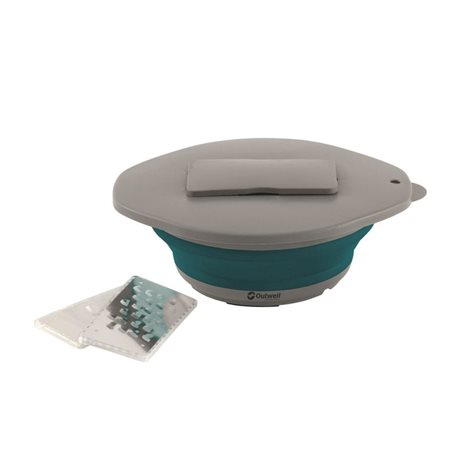 additional image for Outwell Collaps Bowl & Lid With Grater