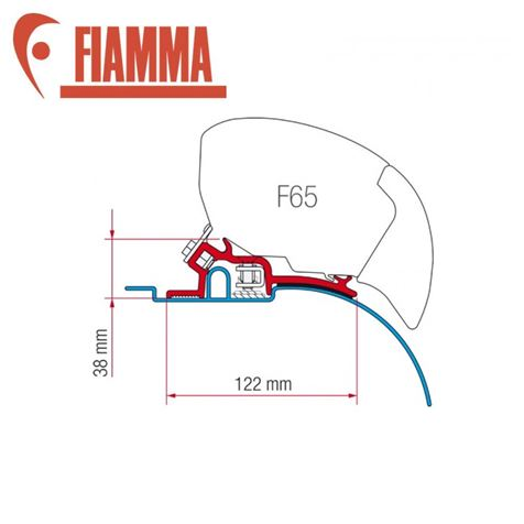 Fiamma F65 / F80 Adapter Kit - Ducato Pre 2006 High Roof