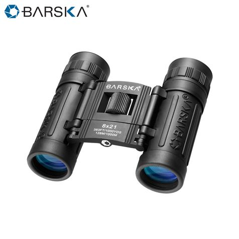 BARSKA Lucid 8x21 Compact Binoculars