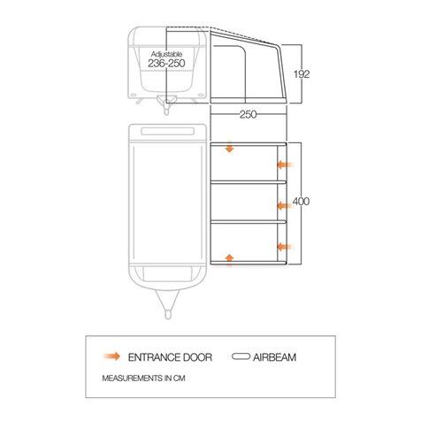 additional image for Vango Braemar III 400 Caravan Air Awning - 2020 Model