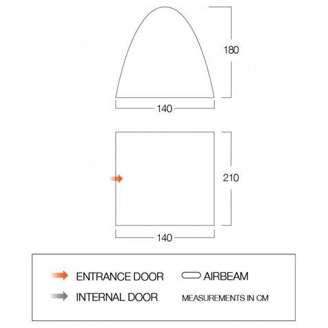 additional image for Vango Free Standing Inner Bedroom - 2020 Model