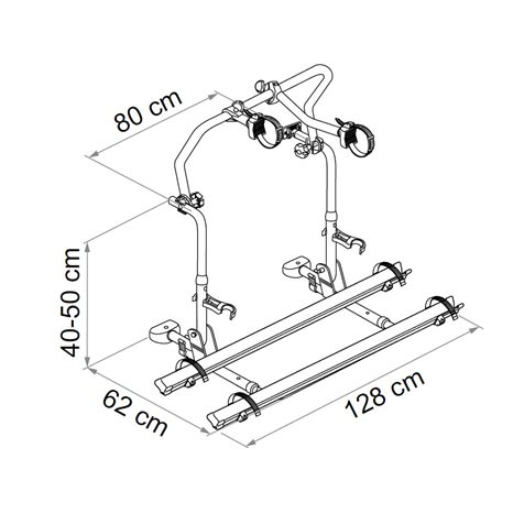 additional image for Fiamma Carry-Bike Pro L80 Motorhome Bike Carrier