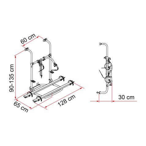additional image for Fiamma Carry-Bike Pro Hymer-Dethleffs Bike Carrier - 2020 Model