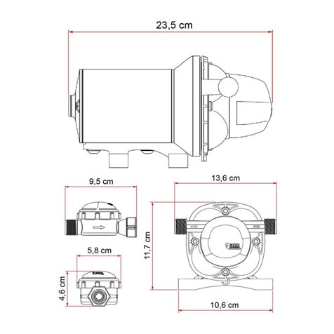 additional image for Fiamma Aqua F Water Pump 12V