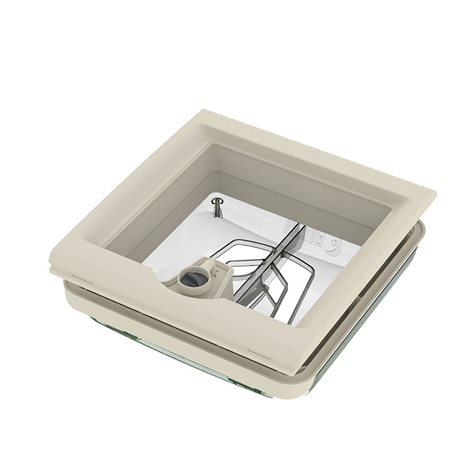 additional image for Fiamma Roof Vent 28 F - Crystal