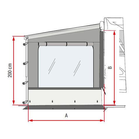 additional image for Fiamma Sun View Side Wall Pro Shade