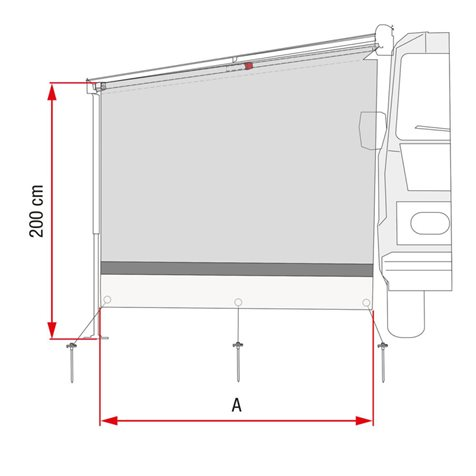 additional image for Fiamma Sun View Side Wall
