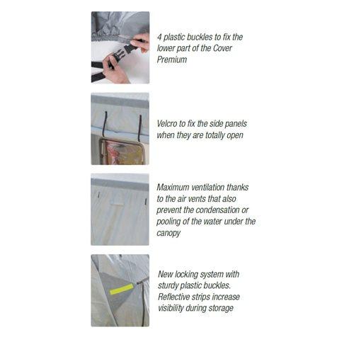 additional image for Fiamma Premium Full Motorhome Cover