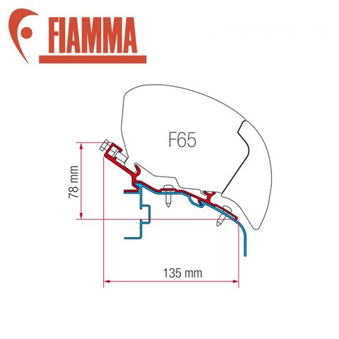 Fiamma F65 Awning Adapter Kit - Elddis