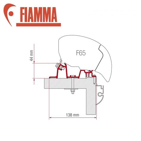 Fiamma F65 Awning Adapter Kit - Hobby Premium