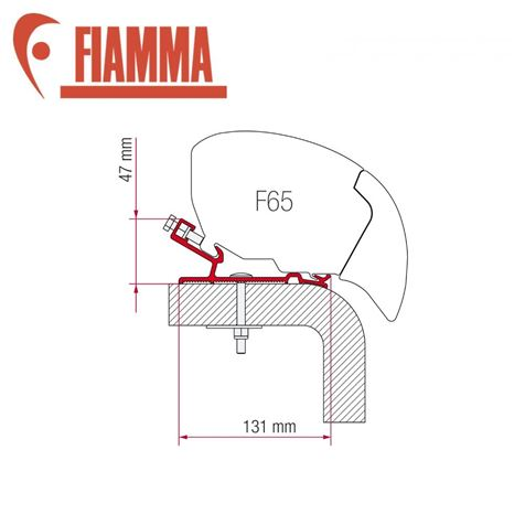 Fiamma F65 Awning Adapter Kit - Hymer