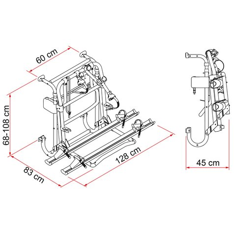 additional image for Fiamma Carry-Bike Lift 77 E-Bike Carrier