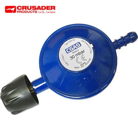 Crusader 30mbar Camping Gas Regulator