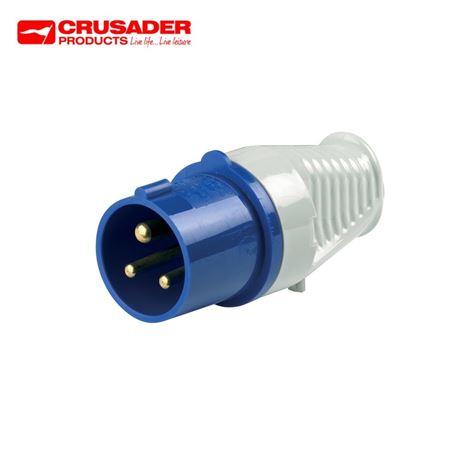 16A 3-Pin Mains Plug