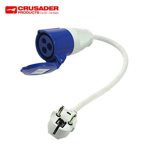 230V Euro Site Electrics Hook-Up Lead