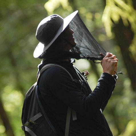 additional image for Lifesystems Mosquito and Midge Head Net Hat
