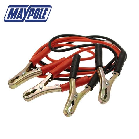 Maypole 7.5mm CSA x 2M Jump Leads