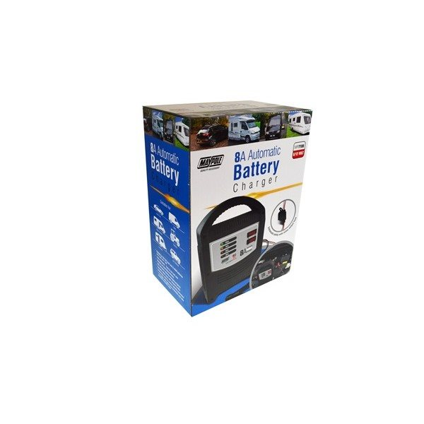 additional image for Maypole 8 Amp LED Battery Charger