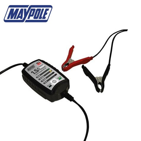 Maypole 1.5A Smart Battery Charger
