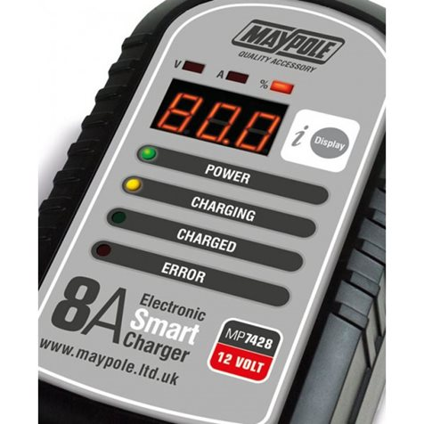 additional image for Maypole 8A 12V Smart Battery Charger