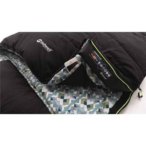 additional image for Outwell Camper Lux Double Sleeping Bag - 2020 Model