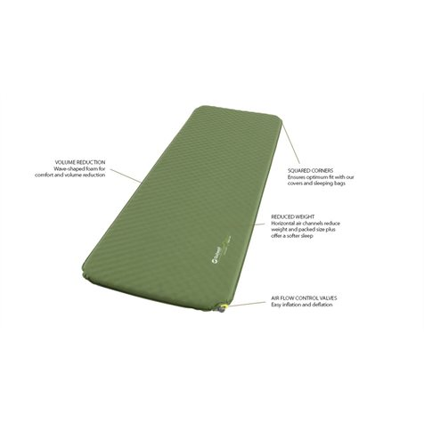additional image for Outwell Dreamcatcher Single Self Inflating Mat - 12cm XXL