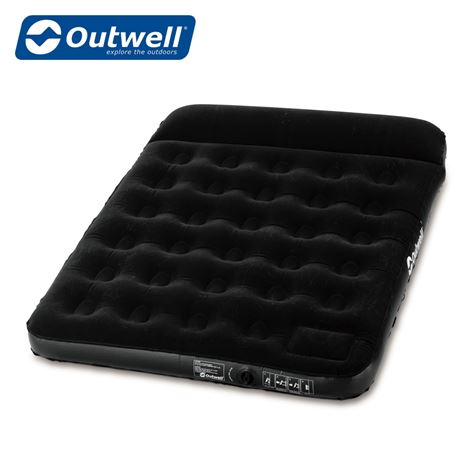 Outwell Flock Classic Double Airbed With Pillow