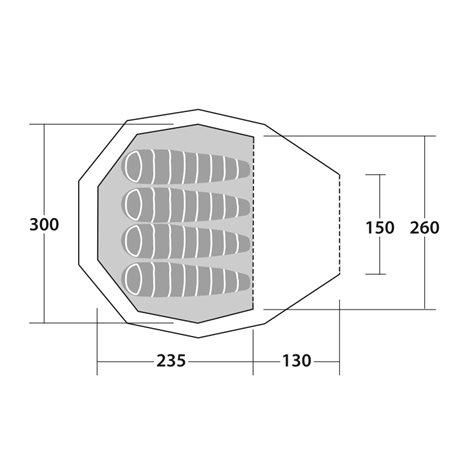 additional image for Robens Fairbanks Tipi Tent - 2020 Model